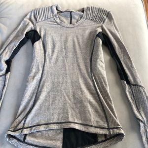 lululemon long sleeve striped shirt